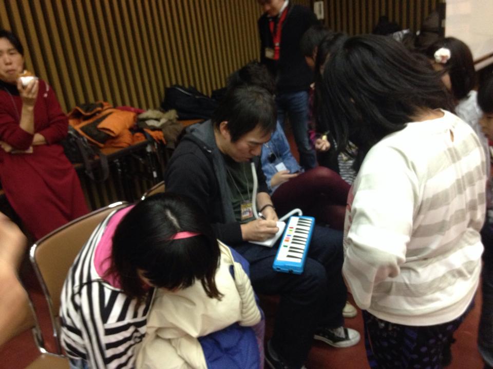 「西成•子どもオーケストラ」コンサートの練習を拝見♪