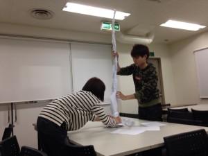 『キャリアデザイン実習』はじまりました!@ 大阪デザイナー専門学校