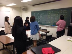 キャリアデザイン授業の2日目@大阪デザイナー専門学校
