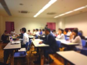 ほぼ満席!「クラウドファンディングセミナー」@阿倍野市民学習センター