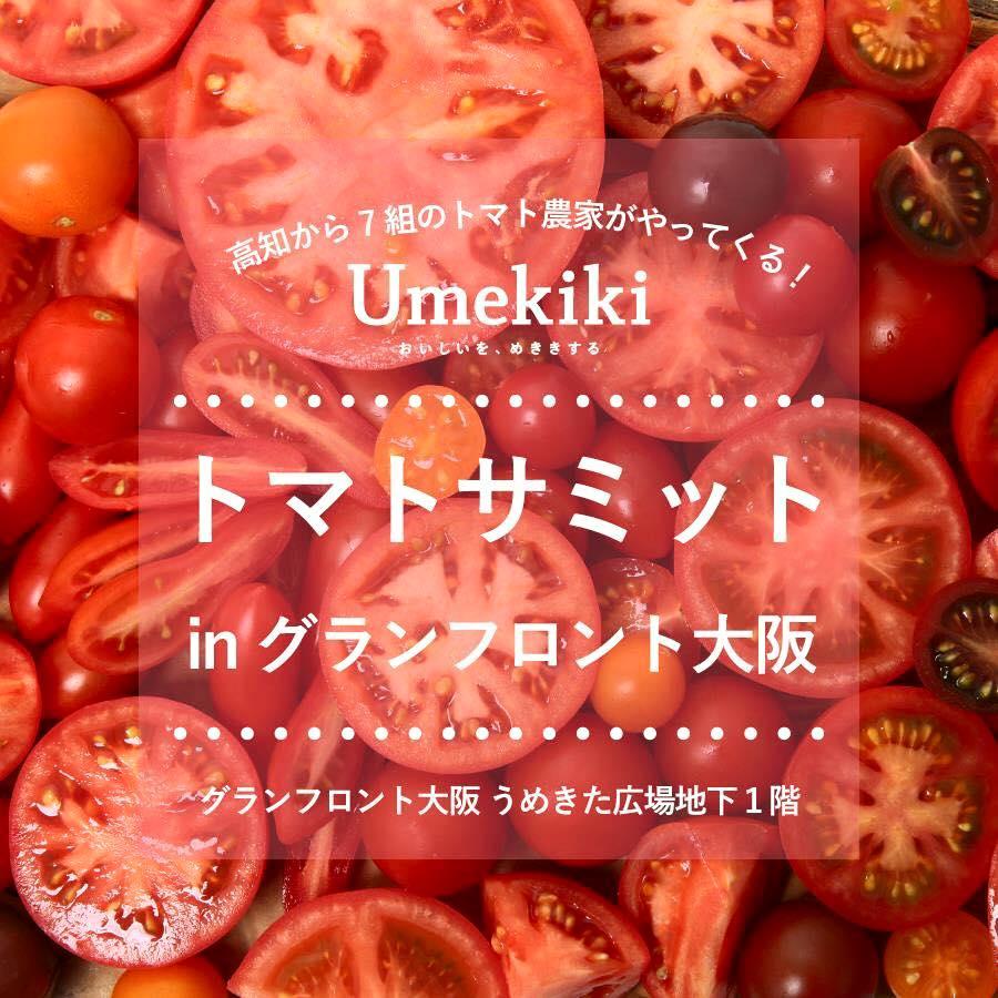 Umekikiがトマトサミットとコラボイベントを開催します!