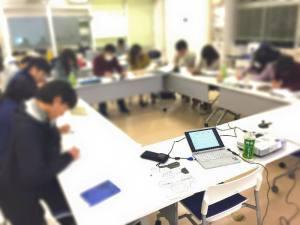 京都産業大学のコーオプセミナーの今年初授業!