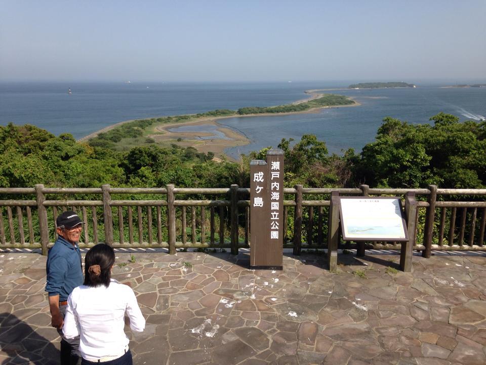 プロジェクトの視察で淡路島へ