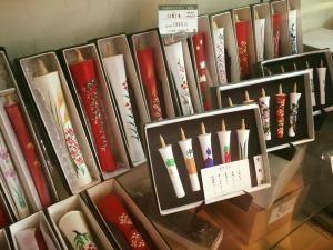 京都の和ろうそくの工房を見学!