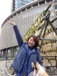 宮崎県の白首大根、 配りまくってまーす!!@グランフロント大阪 Umekiki