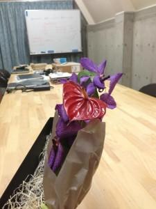 お花のお中元