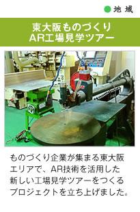 東大阪モノづくりAR工場見学ツアー