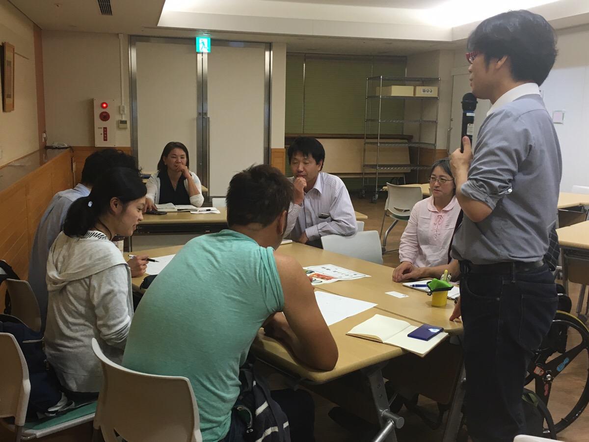 講義:福祉のミライ教室in堺 チラシづくりワークショップ